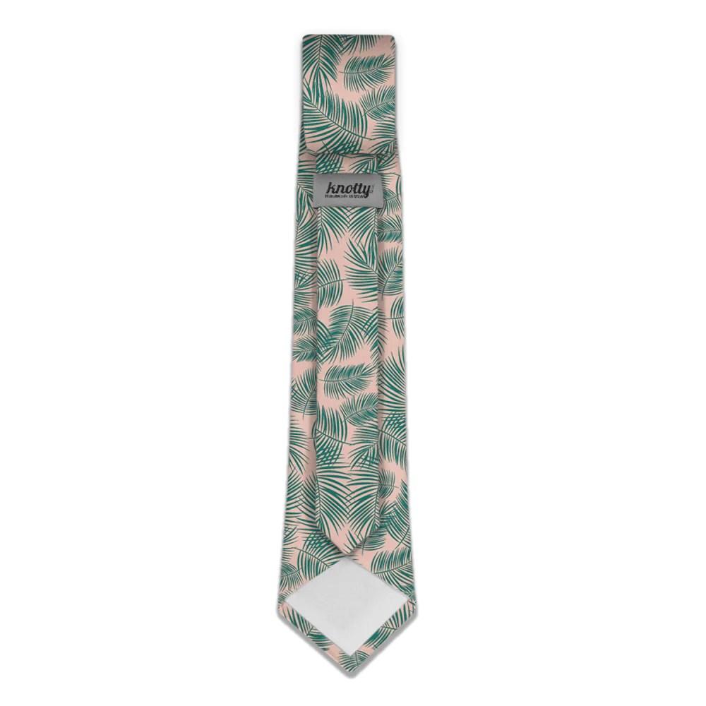palm leaves necktie