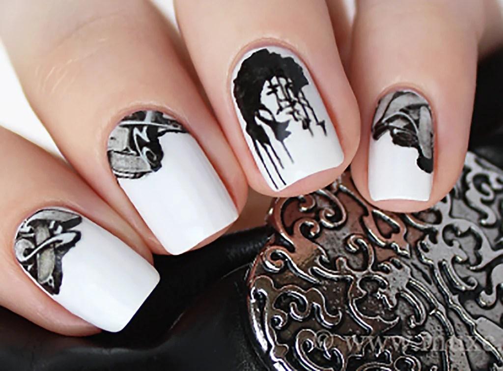 graffiti nail decals set #3