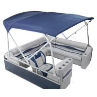 Heavy Duty Pontoon Boat Tops (8'W x 10' L Pontoon Bimini ...