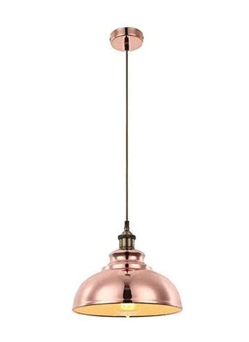 Globo 15083 Mandy lampe suspendue, EN MÉTAL, EN CUIVRE