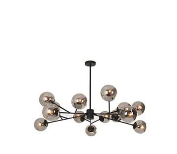 Lampe de salon nordique en verre lustre