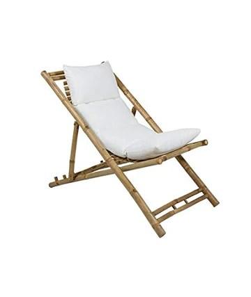 BigBuy Home Chaise Longue en Bambou (136 x 59 x 63 cm) Taille Unique
