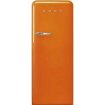 Réfrigérateur 1 porte Smeg FAB28ROR3 - Réfrigérateur 1 porte - 270 litres - Réfrigerateur/congel : Froid brassé / Froid statique - Dégivrage automatique - Orange - Classe A+++ / Pose libre