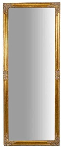 Miroir à accrocher vertical/horizontal, 72 x 3 x 180 cm, finition or vieilli