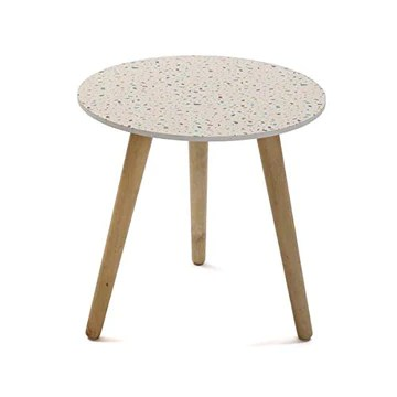 Versa Table d'appoint ronde Vivid Terrazzo - Table