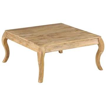 N/O Profitez de Vos achats avec Table Basse 80x80x40 cm Bois de manguier Massif