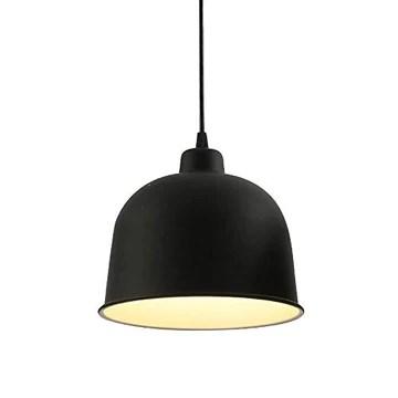 ZAQXSW Lustre industriel Black Wind Loft Nordic restaurant Retro Bar Fer Art Matte restaurant Lamp Loft Shade Cuisine Café Lustres (Size : Style C)
