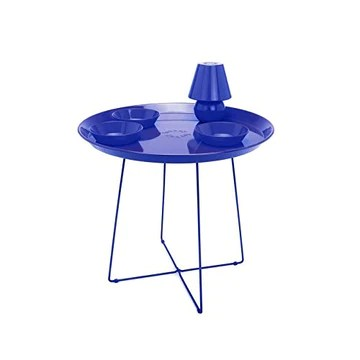 Fatboy - Table Basse Snackrack + Plateau Snacklight (Bleu)
