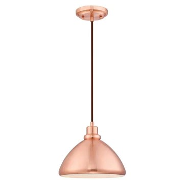 61039 Suspension à 1 lampe en cuivre brossé avec LED