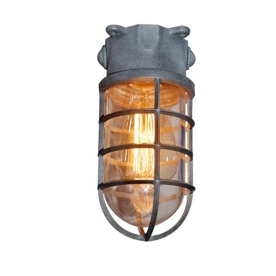 Applique d'extérieur hublot, Murale Marine Nautique Lumière Vintage Industrielle Lampe, Lampe De Bateau Décoration Mur Patio Couloir Lampes Lampe Ronde En Aluminium Moulé Sous Pression Applique,Silver