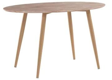 Menzzo Sissi Table, M.D.F, Chêne Clair, 130