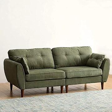 Canapé moderne en tissu de style minimaliste peut être combiné chaises confortables pour salle de séjour de bureau,Green-3 seater