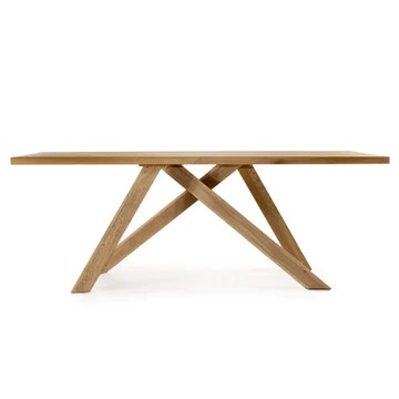 Marque Amazon - Alkove - Hayes - Table moderne en bois massif