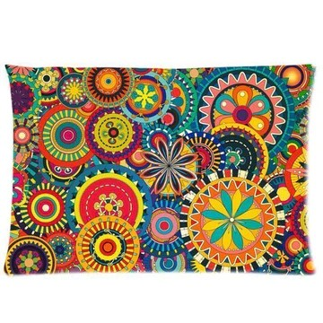 Sngzc Comfortable Fantasy Psychedelic Customized Rectangle Pillow Cases 20x30 (One Side) SUNSHINEM-281 Fashionable2289