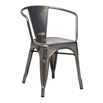 SKLUM Chaise avec accoudoirs LIX Brossée - (Plus de Couleurs)