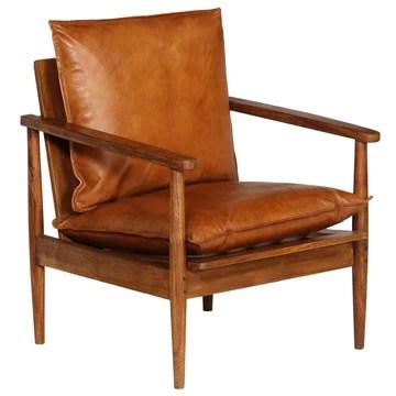 Festnight Fauteuil en Cuir Fauteuil de Salon Chaise Bureau Chaise de Salle à Manger Marron 66 x 69 x 74 cm