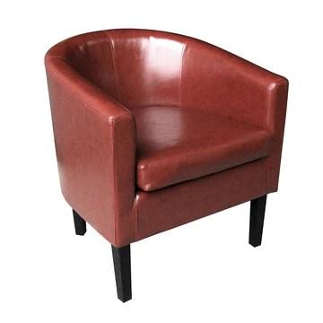 Keinode Fauteuil Confère Simili Cuir Incomparable Design Salon Salle à Manger Chambre à Coucher Salon Bureau W58 cm X D50 cm X H: