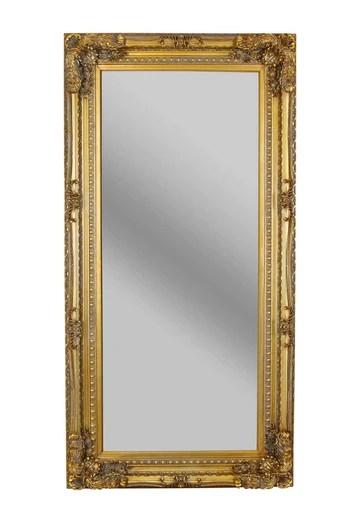 PALAZZO INT Miroir Mural Style Baroque Doré 175 x 83 cm Taille XL