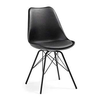 Kave Home - Chaise Ralf en polypropylène avec Pieds en Acier