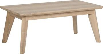 Seconique Finley Table Basse en chêne Taille Unique