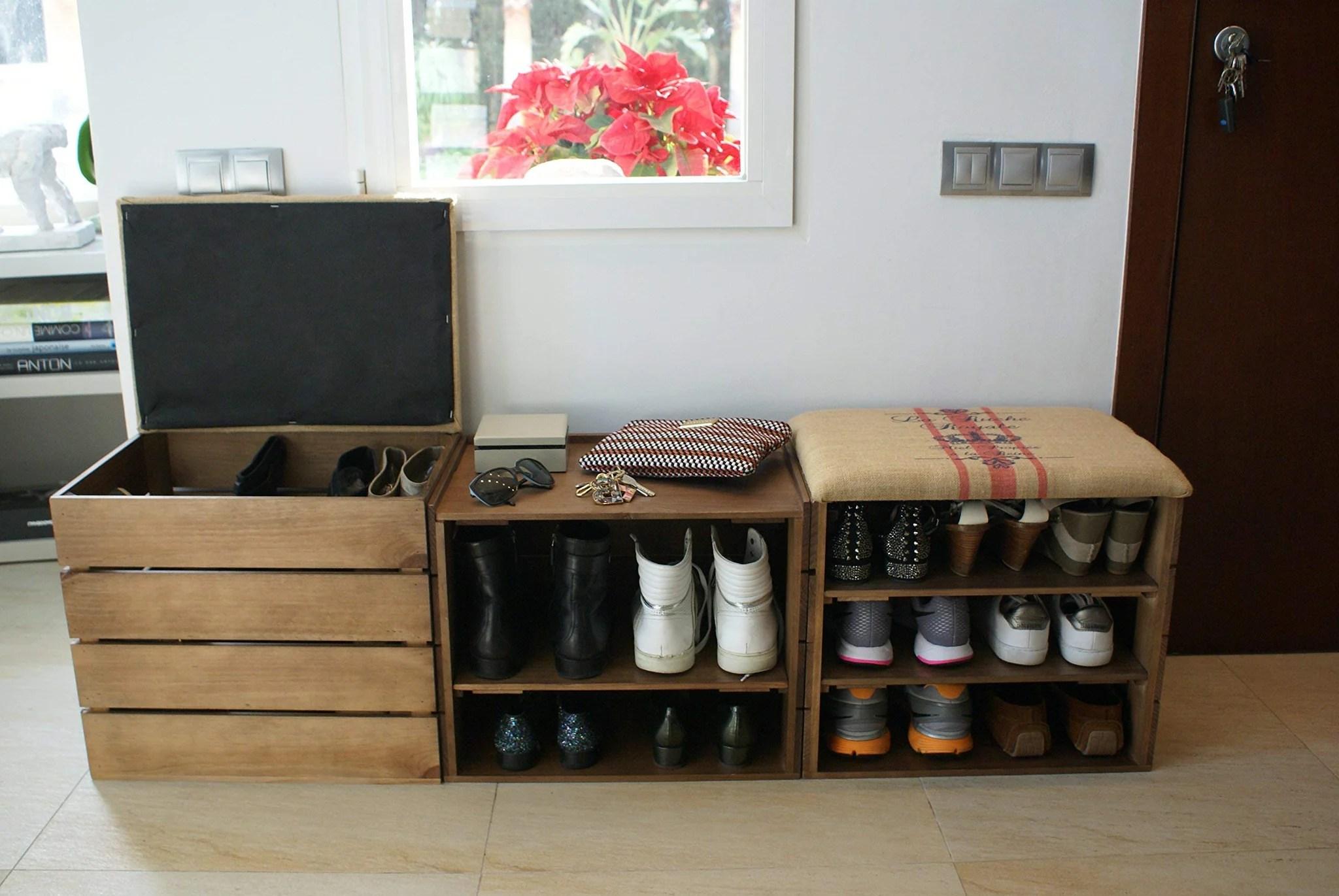 liza line meuble chaussures marron