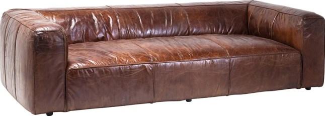 Canapé en cuir Cubetto 260 cm Kare Design
