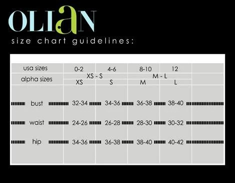 Olian also sizing guide   to maternity rh btobmaternity