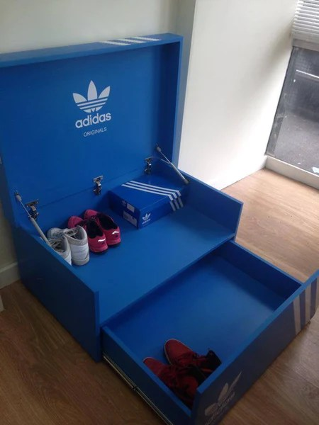 Shoe Trainer or Sporting Accessory Storage Box