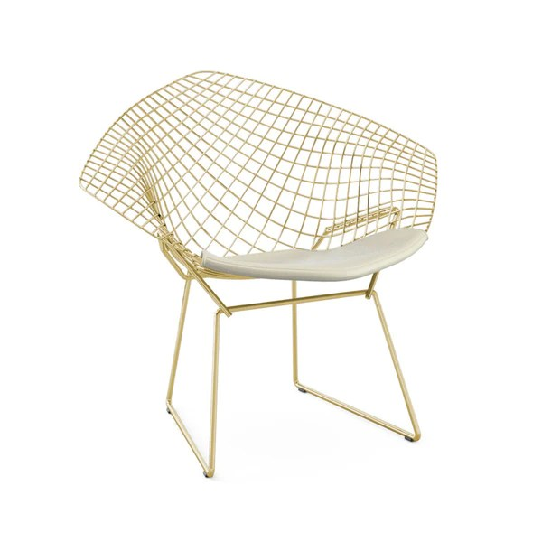 Bertoia  Diamond Chair GOLD  Knoll  Modern Furniture