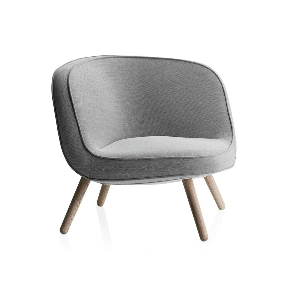 light grey chair medical office chairs via 57 fritz hansen palette parlor modern design by bjarke ingels in steelcut trio 2 124