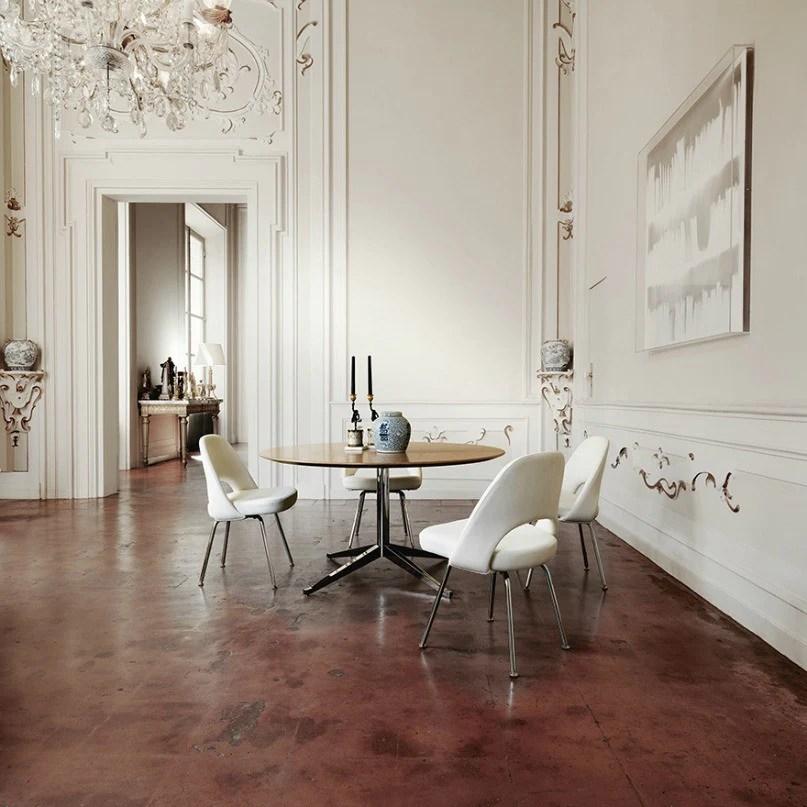 Saarinen Executive Armless Chair  Modern Furniture