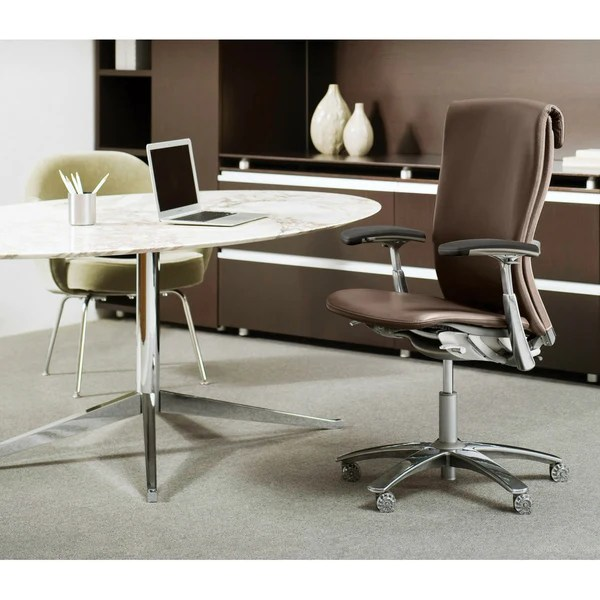 Florence Knoll Oval Table Desk  Palette  Parlor  Modern