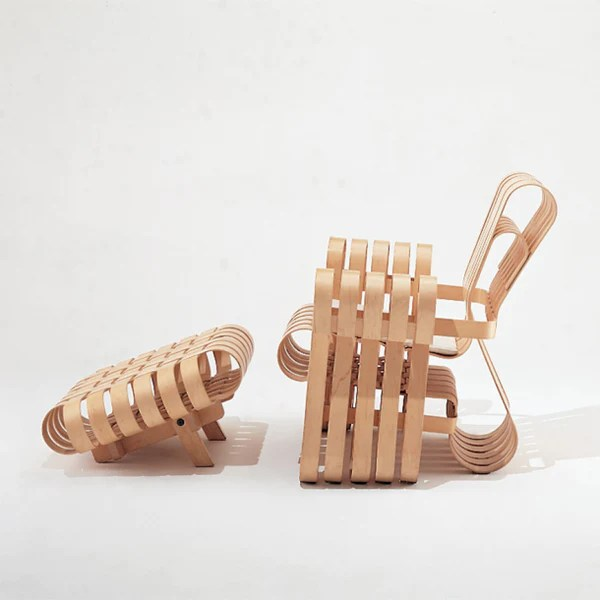 frank gehry chair sashes for chairs power play club palette parlor modern design