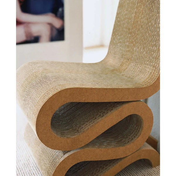 Frank Gehry Wiggle Chair  Vitra  Palette  Parlor