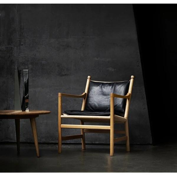 Hans Wegner Ladderback Lounge Chair CH44  Modern