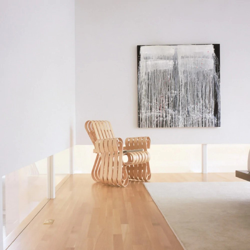 Frank Gehry Power Play Club Chair  Palette  Parlor