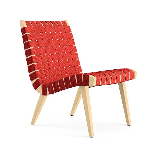 Knoll Risom Lounge Chair  Armless  Palette  Parlor