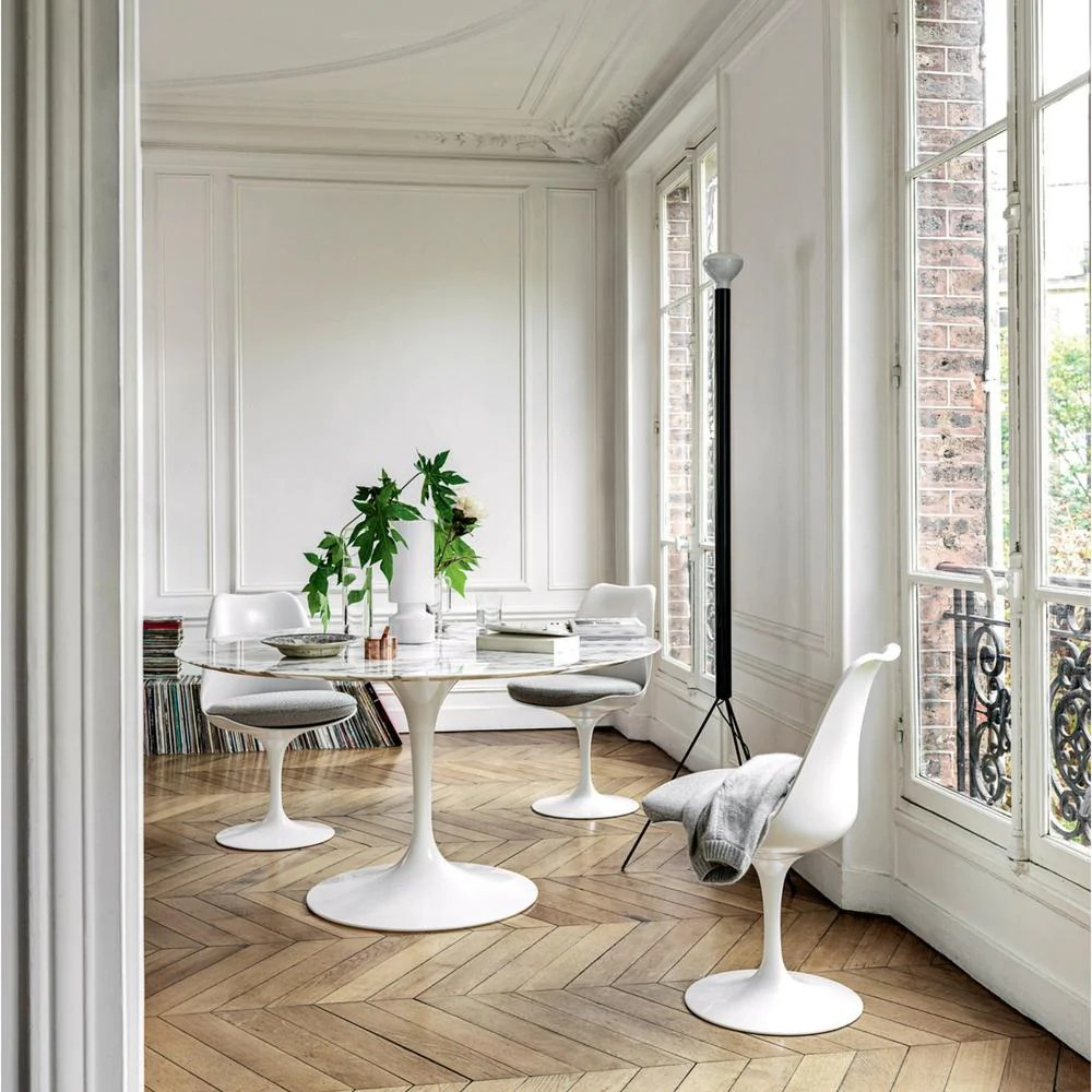 Knoll Saarinen Dining Table  Round  Palette  Parlor