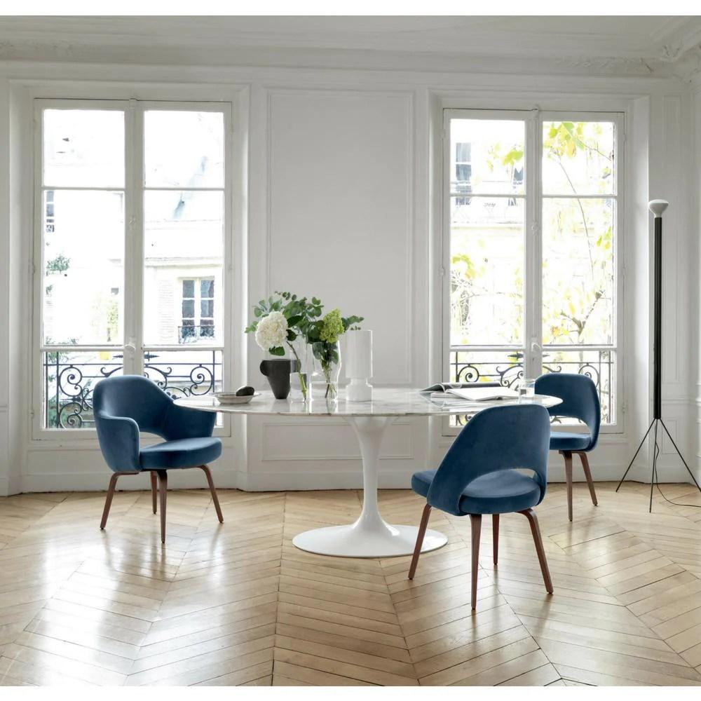 Knoll Saarinen Oval Dining Table  Palette  Parlor  Modern Design