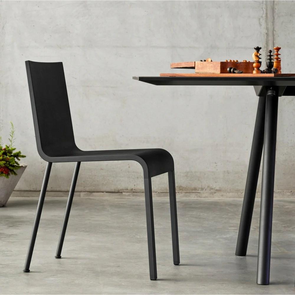 chair steel legs office chairs costco maarten van severen | .03 vitra modern furniture palette & parlor