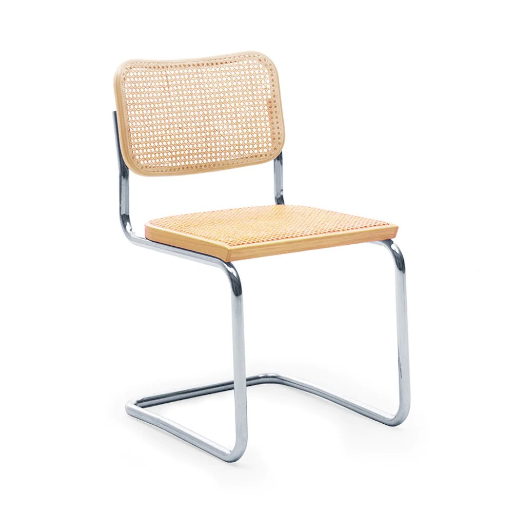 marcel breuer cesca chair with armrests french bistro knoll by palette parlor modern design