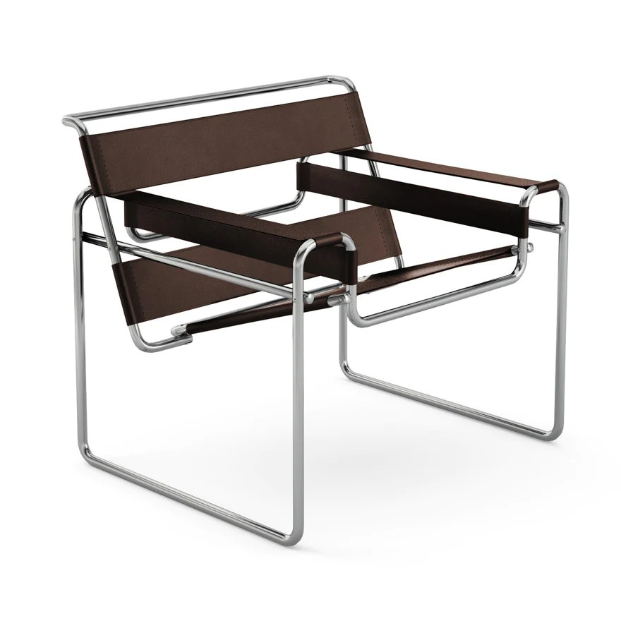 Marcel breuer wassily chair knoll modern furnishings palette