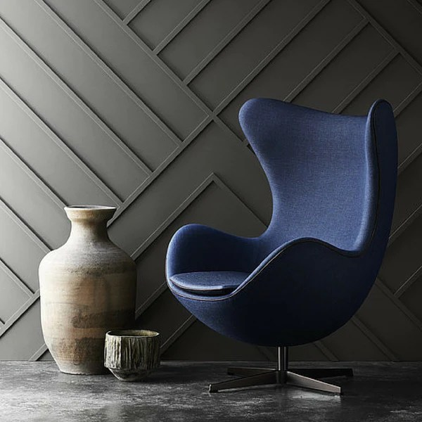 blue leather office chair satin covers rental inc arne jacobsen egg | modern furniture palette & parlor