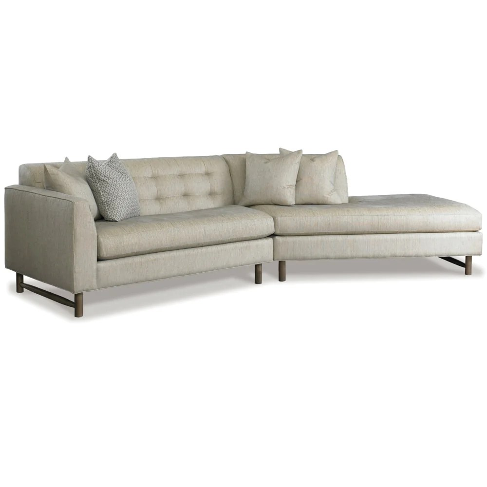 angled sectionals sofas dwr como sofa keaton sectional precedent furniture palette