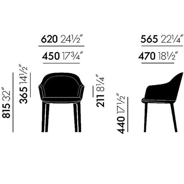 turquoise office chair koken barber for sale softshell | ronan and erwan bouroullec vitra palette & parlor modern design