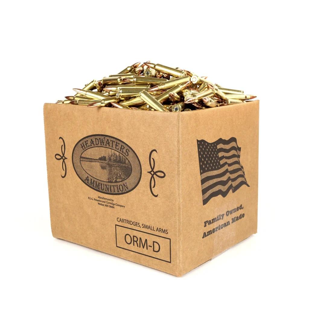 medium resolution of bulk ammo 223 rem 55 grain hornady full metal jacket reman brass fog ammo