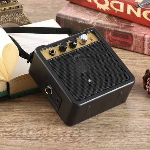 Portable Mini Guitar Amplifier For Acoustic & Electric
