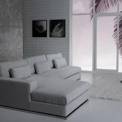 Aria Fabric Modern Sectional Sofa Set Cheapest Leather Corner Sofas Ash