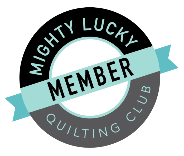 Mighty Lucky Member Button