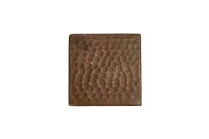 3 X 3 Hammered Copper Tile Quantity 4 Corbel Universe
